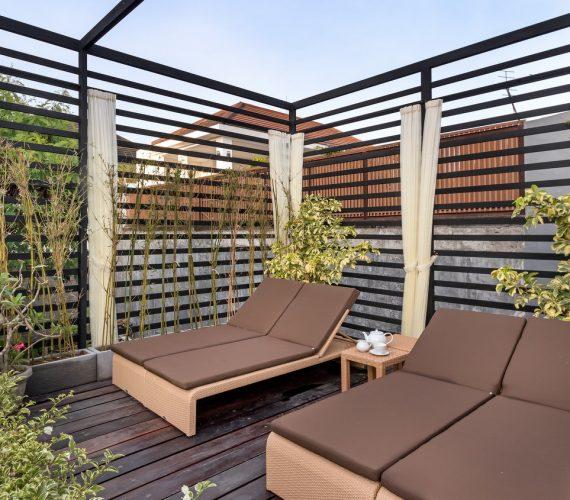 Sun Bed Area